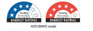 Ace Heat Pumps Christchurch authorised supplier and installer for Fujitsu energy efficient heat pump KMTC slim model